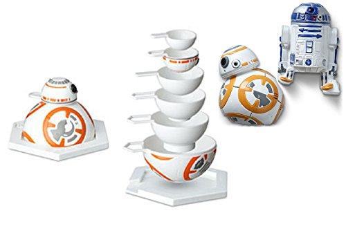 Price comparison product image Disney Star Wars Kitchen Bundle R2-D2 Magnets and BB-8 Magnets and Measuring Cups