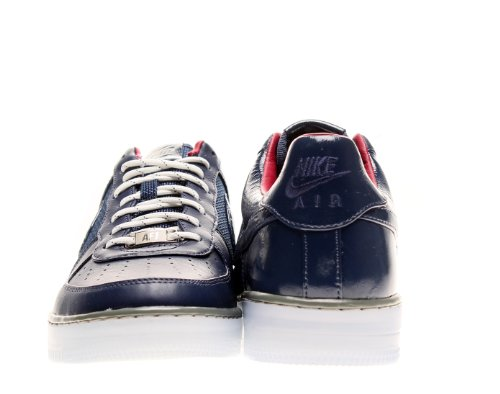 Nike Herren AF1 Downtown Basketball Schuhe Größe 6. Mid Navy / Mid Navy-Mrcry Grey