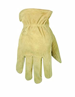 Custom Leathercraft Split Cowhide Work Gloves