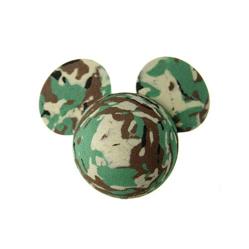 Rare Disney Mickey Mouse Disney Camouflage Antenna Topper / Antenna Ball & Car Mirror Dangler (Camo Rare)