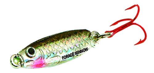 UPC 084948716407, Northland FMS1-11 Forage Minnow Spoon, 1/24-Ounce, Silver Shiner