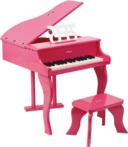 Hape Early Happy Melodies Grand Piano, Pink, Baby & Kids Zone