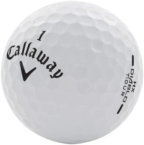 Callaway HX Diablo Tour Like New AAAAA Recycled Golf Balls, 24-Pack
