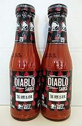 Taco Bell Diablo Sauce, 7.5 oz (Pack of ...