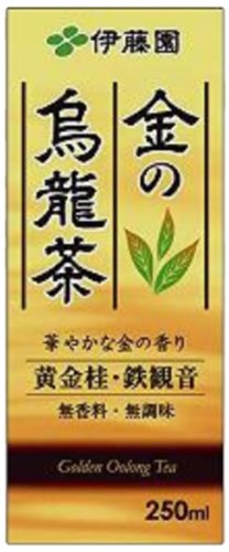ITO EN gold oolong tea (paper pack) 250mlX24 this by Of gold oolong