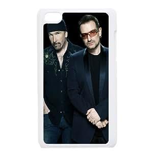 iPod Touch 4 Phone Case White U2 ESTY7846735