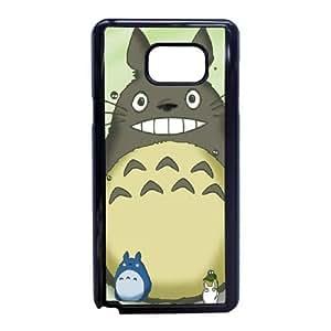 Back Skin Case Shell Samsung Galaxy Note 5 Cell Phone Case Black My Neighbor Totoro Zkjpg Pattern Hard Case Cover
