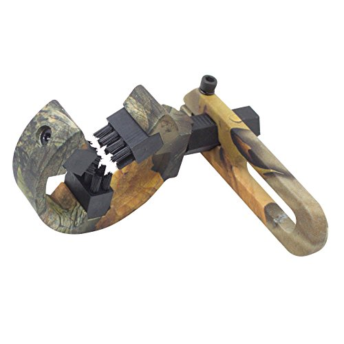 Archery Bow Camo Brush Capture Arrow Rest - Both Left and Right Hand