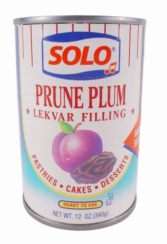 Solo Prune Plum Cake and Pastry Filling - Pack of 6
