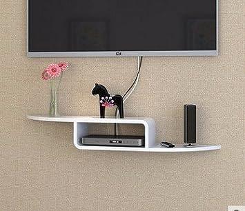 Schon Tv Set Top Box Racks Wandhalterung An Der Wand Wand Dekoration Rack Regal  Holz