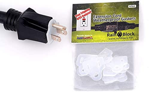 Outdoor Electrical Weatherproof Combo Kit - 10 Gaskets/10 Termination Kits