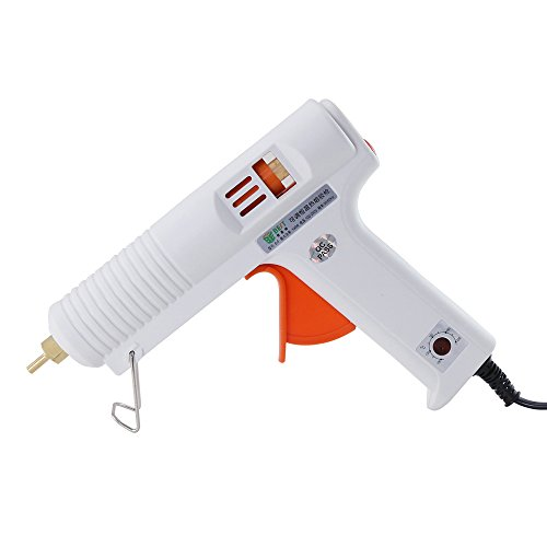 (Hot Glue Gun with Adjustable Temperature 100W High/Low Temp Professional Melt Glue Gun Full Size Efficient Trigger High Precision Nozzle for DIY Crafts Home Repairs Industrial Use Decorations, Safe)
