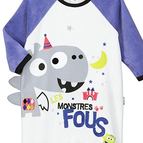 f5c7b254d145f Pyjama bébé velours Don t Panic - Taille - 36 mois (98 cm)  Amazon.fr  Bébés    Puériculture
