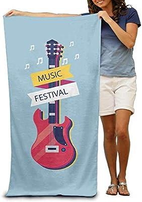 LUOL - Toalla de playa personalizable para festival de música ...