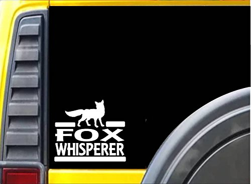 (Fox Whisperer Sticker J917 6 inch hunting decal)