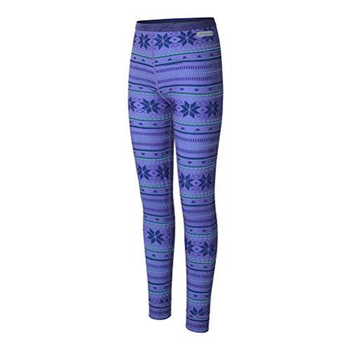 - Terramar 2.0 Thermolator Pant Girls Long Underwear Bottom - Medium/Fairisle Print