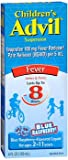 Advil Children's Suspension Blue Raspberry Flavored - 4 oz, Pack of 2