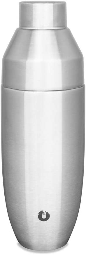 Snowfox Stainless Steel Cocktail, Shaker