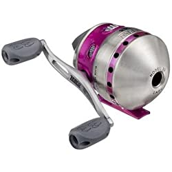 Zebco 33 Purple Authentic Spincast Reel by Zebco
