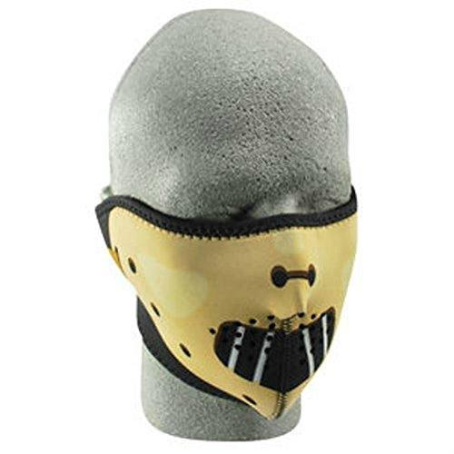 Hannibal Neoprene Half Face Mask Biker Snowmobile Ski Paintball Costume (Hannibal A Team Costume)