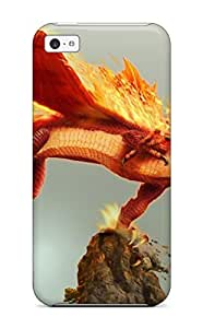 TYH - Hot Perfect Fire Dragon Case Cover Skin For ipod Touch 4 Phone Case phone case
