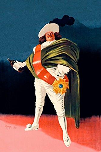 ArtParisienne Mousquetaire Avec Bouteille De Liqueur by Leonetto Cappiello Wall Decal, 36