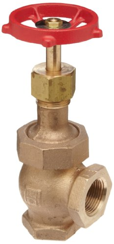 Milwaukee Valve 582 Series Bronze Globe Valve, Class 300, Elbow, Union Bonnet, 3/4'' NPT Female by Milwaukee