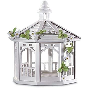 Amazon.com : Gifts & Decor White Gazebo Style Bird Feeder
