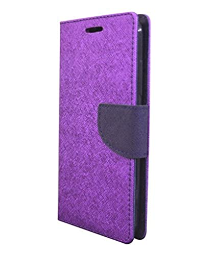 official photos ad91d 847ef COVERNEW Flip cover for Samsung Galaxy J3 Pro Purple