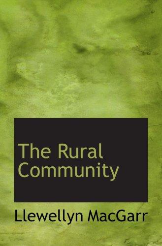 The Rural Community pdf
