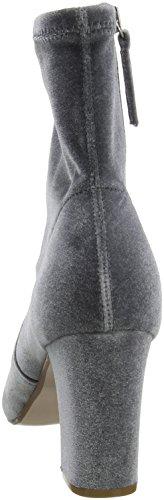 Damen Stiefel Madden Steve Avenue Kurzschaft Grau Grey Velvet FT1q6f