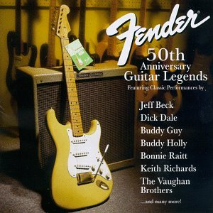 fender stratocaster 50th anniversary concert