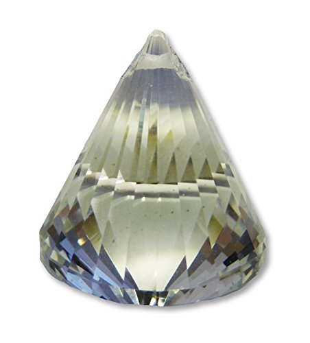 Findsomethingdifferent Sun Catcher Crystal Cone Aaa Quality 4 2 X 5 3 Cms