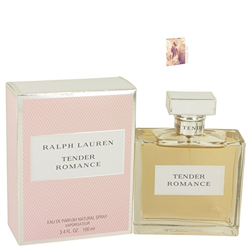 Tender Romance Perfume by Ralph Lauren Eau De Parfum Spray 3.4 oz Free! MA 0.06 oz