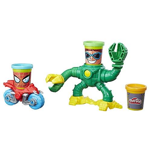 Play-Doh MVL Spiderman vs. Doc Ock - Spiderman Play Dough