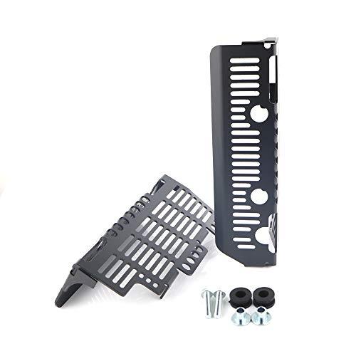 - Aluminum Radiator Guards, for SUZUKI DRZ400/ DR-Z400E/ DR-Z400S/ DR-Z400SM, Radiator Grille Cover/Protector (Black)