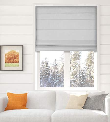 Arlo Blinds Thermal Room Darkening Fabric Roman Shade