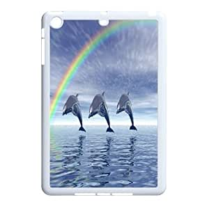 kimcase Custom Dolphin Case Cover for iPad Mini