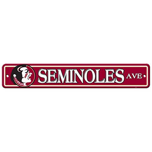 Florida State Seminoles Street Sign - NCAA Florida State Seminoles Street Sign