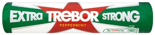 Trebor Extra Strong Mint Roll (Pack of - Roll Mints Extra Strong