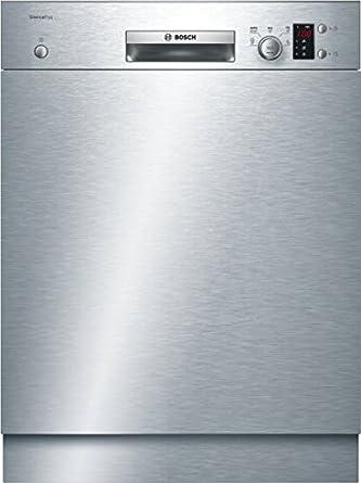 Lave Vaisselle Encastrable Bosch Smu25as00e Lave Vaisselle Encastrable 60 Cm Classe A 48 Decibels 12 Couverts Inox Bandeau Inox Et Noir Amazon Fr Gros Electromenager