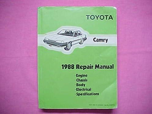1988 toyota camry repair manual toyota amazon com books rh amazon com 1988 toyota camry repair manual 1989 toyota camry repair manual online free