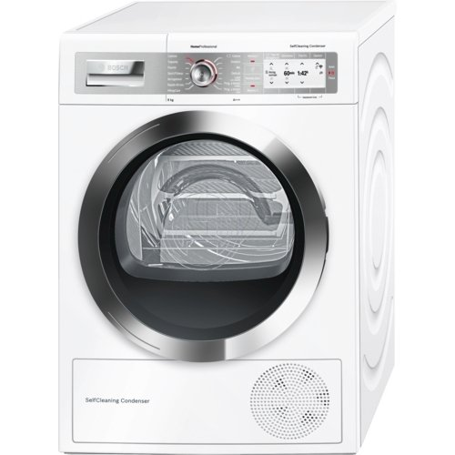 Bosch WTY877H8IT Independiente Carga frontal 8kg A+++ Blanco ...
