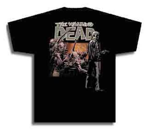 The Walking Dead Rick Black T-Shirt