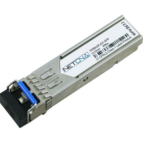 GLC-FE-100EX Cisco COMPATIBLE Transceiver Module - 100BASE-EX SFP module for 100-MB ports, 1310 nm wavelength, 40 km over SMF by NETCNA