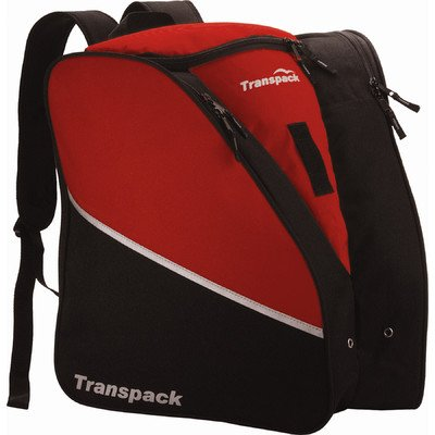Transpack Edge Ski Boot/Gear Bag Backpack Color: Red by Transpack