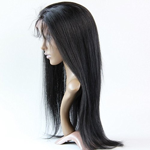 (Forawme Remy Brazilian Straight Long Full Lace Wigs Website For Women 130% Density 1B 30 Inch Pre Plucked Virgin Human Hair Lace Wigs Deals)