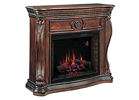 Amazon.com: Lexington Infrared Electric Fireplace Mantel in Cherry - 33WM881-C232: Home & Kitchen