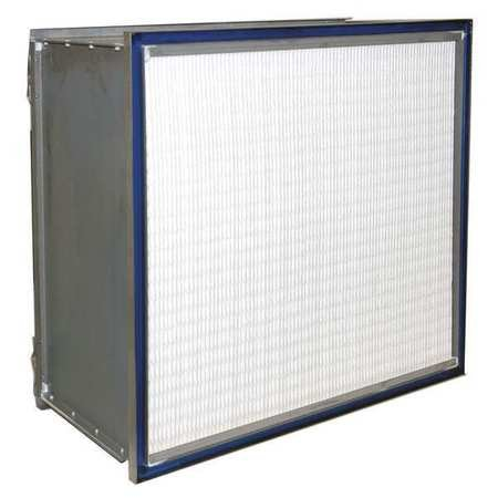 Microfiber HEPA Air Filter, 12x24x24'' by Air Handler