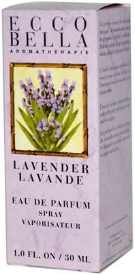 Ecco Bella Eau de Parfum, Lavender, 1 fl. oz.